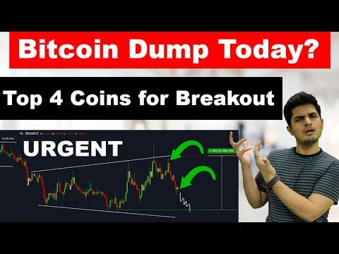 ? Emergency Bitcoin Dump Today ? Top 4 Coins for Breakout ✅ Crypto News Today ?