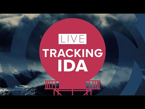 Tracking Ida: Live streaming coverage