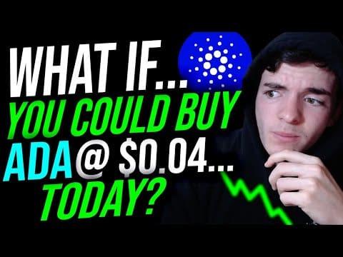 Buying Cardano (ADA) @ $0.04 TODAY!! (Part 1: Altcoins Spotlight)