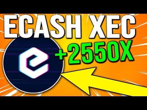 eCASH PRICE PREDICTION 2021 ! ECASH BINANCE LISTING AND PRICE INCREASE ! XEC PRICE PREDCTION 2021