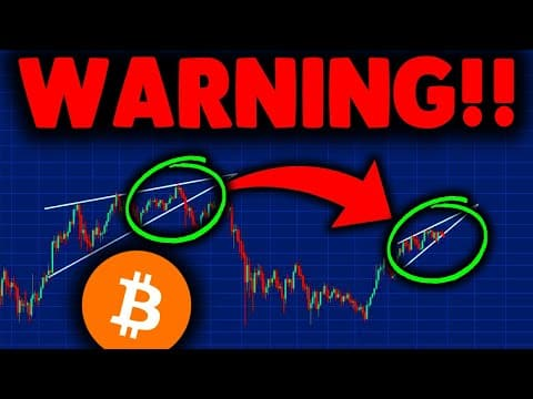 BITCOIN PRICE IN DANGER (important update)!! BITCOIN PRICE PREDICTION EXPLAINED & BITCOIN NEWS TODAY