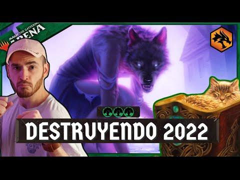 MTG Arena – EL MEJOR DE 2022! Mono Green Stompy! |Top Deck Standard 2022| [AFR] (Parte 1)