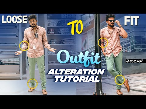 """Outfit Alteration Tutorial Vlog 