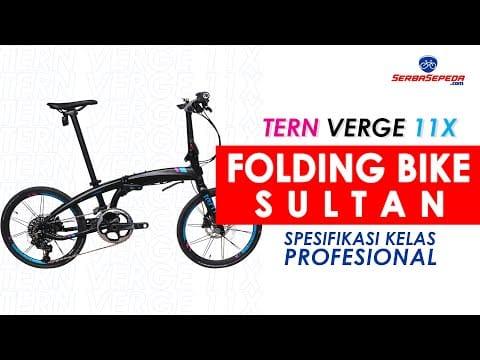 TERN VERGE X 11 | Harga dan Spesifikasi Lengkap