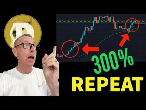 IS DOGECOIN REPEATING A 300% PUMP PATTERN? HUGE BREAKING NEWS  NOW FOR DOGE & PRICE UPDATES