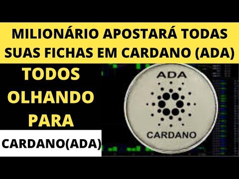 (ADA) Cardano – Milionário com (DOGE) Aposta Todas suas Fichas na Criptomoeda Cardano (ADA)
