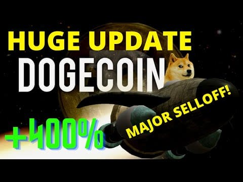 ? NEW DOGECOIN UPDATE! DOGECOIN CRAZY SELLOFF! *PREDICTION & NEWS*