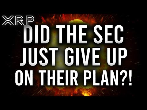 RIPPLE XRP: THE SEC JUST GAVE UP ON THEIR PLAN VS RIPPLE! AUGUST 31 WILL HOLD THE KEY TO PLAN B?!