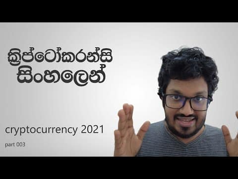 Cryptocurrency සිංහලෙන් ( 2021 ) : Blockchain ! | 003