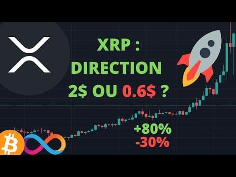 ? XRP : BULL TRAP OU NOUVEL ATH BIENTÔT ?! Analyse XRP & ICP + Actualités du marché des cryptos !