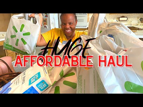 Walmart Extreme Budget Haul (School, Cleaning Supplies, etc)