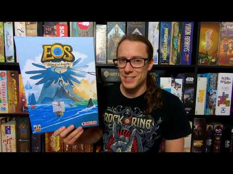 #Preview – EOS: Island of Angels (King Racoon & Grey Fox Games 2021)    Kickstarter   inkl. Regeln