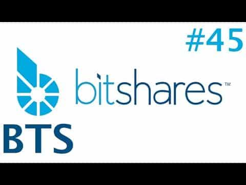 #45 BitShares – BTS: $0.1 – $0.15 – [$0.23] – $0.36 – $0.58 – $0.93