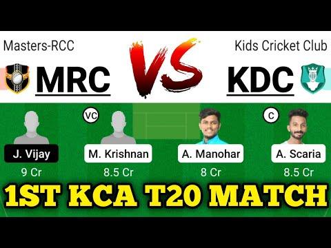 mrc vs kdc dream11 mrc vs kdc dream11 prediction mrc vs kdc dream11 team bcc vs kcc player stats
