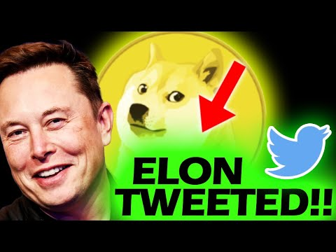 ELON TWEETED ABOUT DOGECOIN!!!!!!!!!!!!!!!!!!!!!!!! #DOGE #DOGECOIN