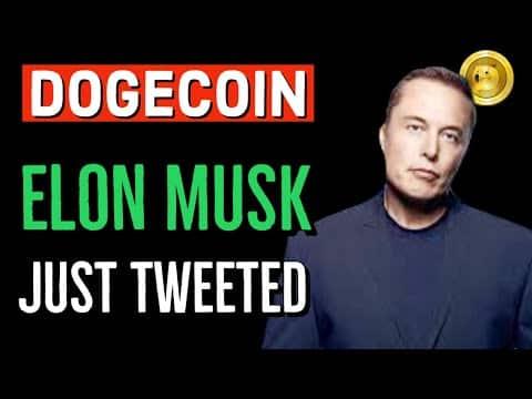 DOGECOIN ELON MUSK'S JUST TWEETED ! LATEST BREAKING NEWS NOW & PRICE UPDATES!! DOGECOIN TWEET!