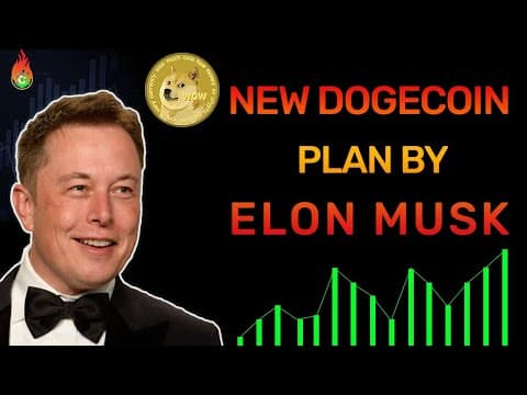 DOGECOIN TO $1 WAS PLANNED BY ELON MUSK! MASSIVE UPDATE! | DOGECOIN NEWS