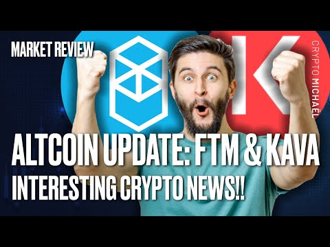 IMPORTANT ALTCOIN UPDATE (INCL. KAVA & FANTOM) ? + VERY INTERESTING CRYPTO NEWS!!
