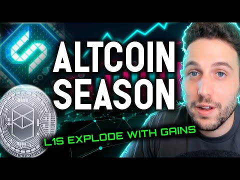 ALTCOIN SEASON!! L1s explode with gains as BTC sets up for next bullish leg