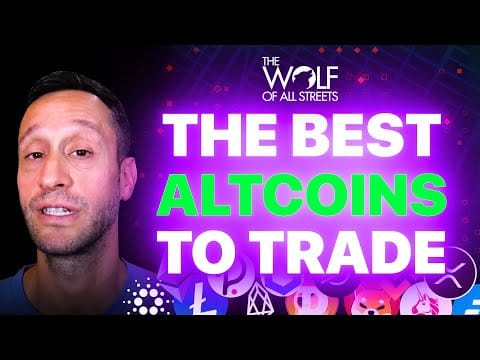 THE BEST ALTCOINS TO TRADE RIGHT NOW   TOP 10 CRYPTO TECHNICAL ANALYSIS