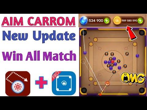 Aim Carrom New Update   Carrom Pool Indirect Aim ? Win All Match Omg