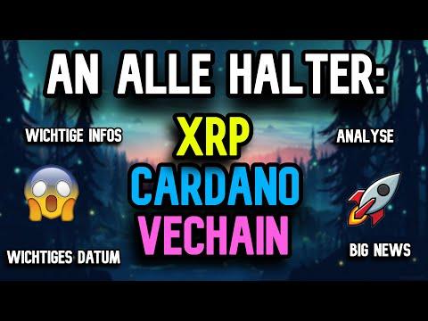 OMG!! MERKT euch DIESES Datum ! Tag der ENTSCHEIDUNG für XRP ?! Cardano Vechain Ripple Kryptowährung