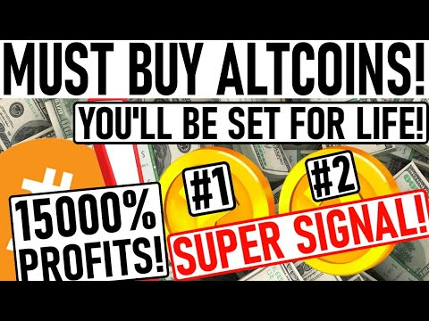 +15000% PROFIT ALTCOIN PICKS! PARABOLIC ALTCOIN GEM PICKS! YOU'LL BE SET FOR LIFE W/ THIS GEM PICK!