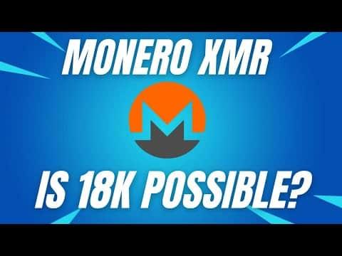 MONERO TO 18K MONERO PRICE PREDICTION! – MONERO XMR 2021 – MONERO TECHNICAL ANALYSIS