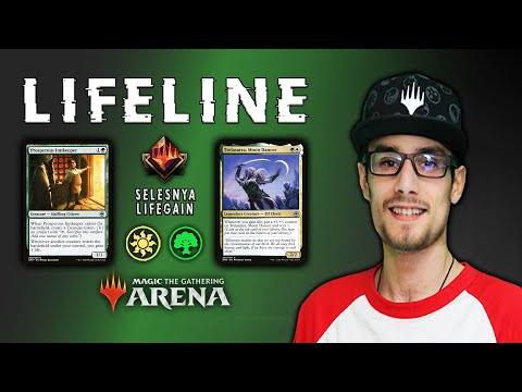 I BET YOU CAN'T BEAT THIS DECK! ?⚕️ Lifeline Starter Deck Upgrade | MTG Arena