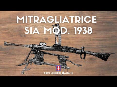 Mitragliatrice SIA Mod. 1938 – L'evoluzione della SIA Mod. 1918
