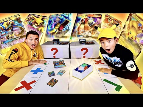 POKÉMON TRADE CHALLENGE ! Échange intense de Boosters & d'iPhone   Pokémon Trading Card Game