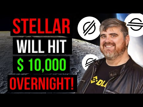 "BITBOY SAYS ""STELLAR LUMENS WILL HIT $10,000 OVERNIGHT""   Xlm Price Prediction"
