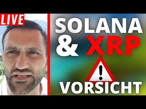 Ripple (XRP) & SOLANA Jetzt KAUFEN !?   Stream Highlights
