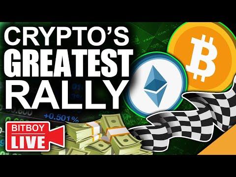 Ethereum Prepared To Flip Bitcoin (Solana Kicking Off Crypto's Greatest Rally)