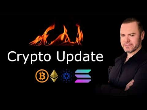 Crypto Update: ADA Wealth Distro, Bitcoin Stages and what is on fire today!