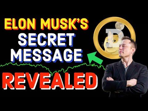 DOGECOIN ELON MUSK'S SECRET REVEALED !! HUGE BREAKING NEWS!! LATEST PRICE UPDATES NOW!