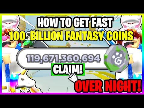 PET SIMULATOR X *HOW TO GET 100,000,000,000* 100 BILLION FANTASY COINS EASY! – ROBLOX!