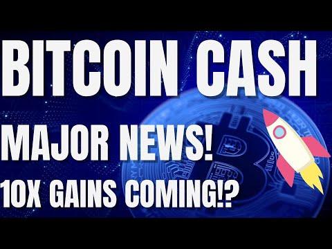 Bitcoin Cash MASSIVE News! – BCH Set To EXPLODE In 2021? – Bitcoin Cash Price Prediction