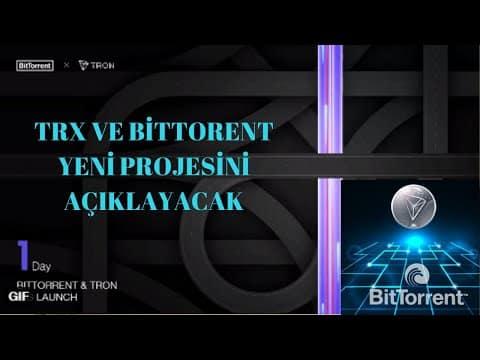 BİTTORENT(BTT)-TRON(TRX) NEDİR? PROJELERİ NE ZAMAN AÇIKLAYACAK. #btt #trx #coin #altcoin