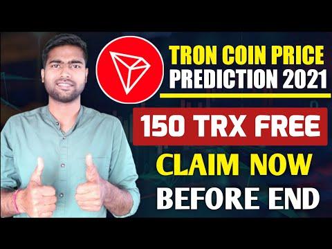150 TRX Free 🔥 – Tron (TRX) Coin Price Prediction – Can TRX Hit 1$ – Tron News & Updates, Burn 2021