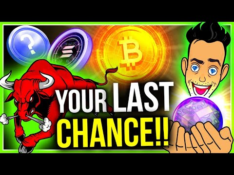 ONE LAST CHANCE TO MAKE LIFE-CHANGING CRYPTO GAINS! (HERE'S WHY)
