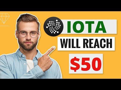 IOTA WILL REACH $50 HERE IS WHY?? – IOTA Price Prediction – What is IOTA?