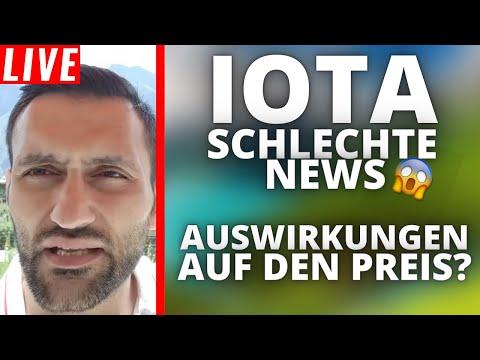 IOTA – Explosion trotz schlechter News ?   Stream Highlights