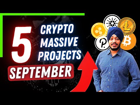 5 CRYPTO PROJECTS FOR SEPTEMBER – 2X CONFIRMED CRYPTO CALL'S | #crypto