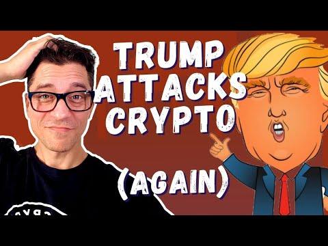 Trump Attacks Crypto / Twitter To Add Bitcoin / OKEx, XRP & Bitconnect News