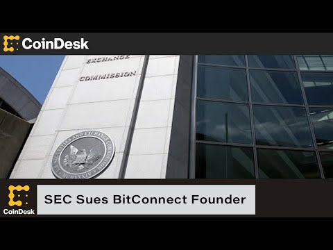 SEC Sues BitConnect Founder on Fraud Charges