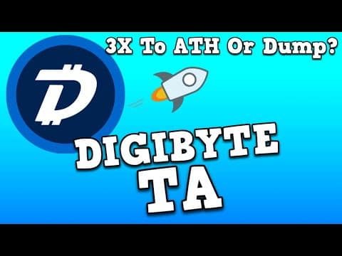 DIGIBYTE TA Update! 3X To ATH Soon??