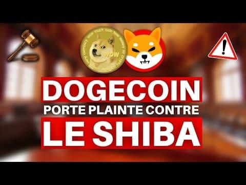 DOGECOIN PORTE PLAINTE CONTRE LE SHIBA ?! 🚨