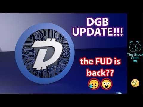 ?? DGB UPDATE | DigiByte FUD coming Back? | News with Rudy