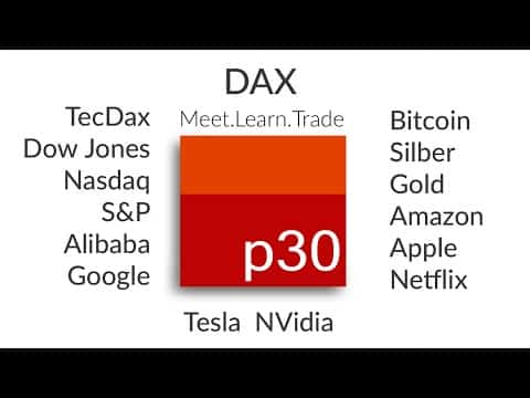Dax Analyse ab 6 September: Dax, TecDax Dow, Nas, S&P, Bitcoin, Gold, Silber und  US Aktien!